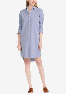 Ralph Lauren: Polo Polo Ralph Lauren Monogram Cotton Shirtdress