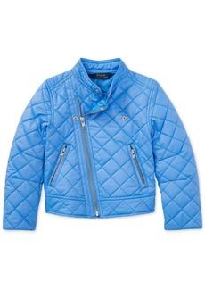 Ralph Lauren: Polo Polo Ralph Lauren Moto Jacket, Toddler Girls