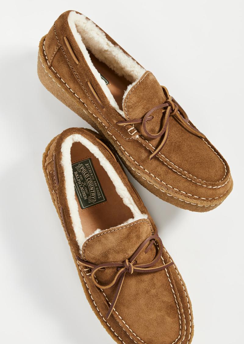 Ralph Lauren Polo Polo Ralph Lauren Myles Loafer Slippers