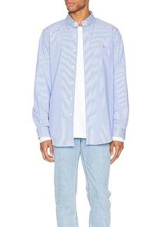 Ralph Lauren Polo Polo Ralph Lauren Natural Poplin Button Down Shirt