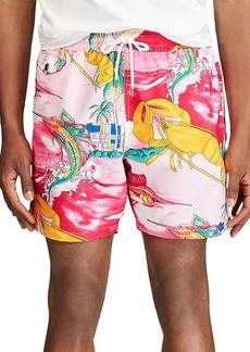 Ralph Lauren Polo Polo Ralph Lauren Nautical Print Swim Trunks