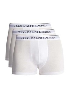 Ralph Lauren Polo Polo Ralph Lauren Pack of three logo-embroidered boxer briefs