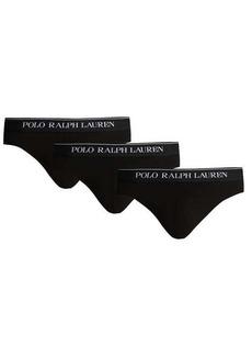 Ralph Lauren Polo Polo Ralph Lauren Pack of three stretch-cotton briefs