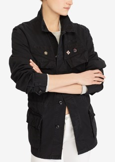Ralph Lauren: Polo Polo Ralph Lauren Patchwork Military Jacket
