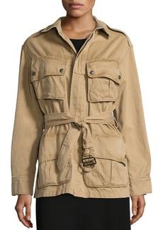 Ralph Lauren: Polo Polo Ralph Lauren Pima Cotton Twill Military Jacket