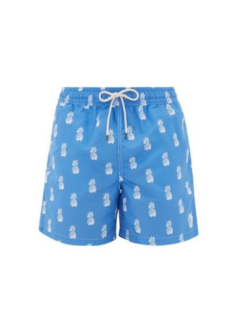 Ralph Lauren Polo Polo Ralph Lauren Pineapple-print logo-embroidered swim shorts
