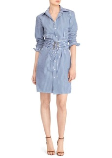 Polo Ralph Lauren Pinstripe Shirt Dress