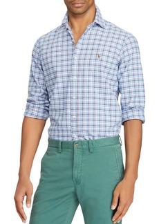 Ralph Lauren Polo Polo Ralph Lauren Plaid Cotton Classic Fit Button-Down Shirt