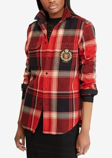 Ralph Lauren: Polo Polo Ralph Lauren Plaid Crest Cotton Shirt