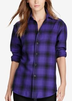 Ralph Lauren: Polo Polo Ralph Lauren Plaid Relaxed Fit Flannel Shirt