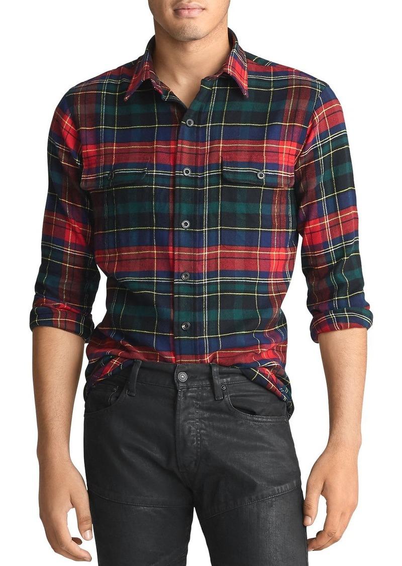 Ralph Lauren Polo Polo Ralph Lauren Plaid Twill Classic Fit Shirt
