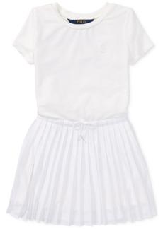 Ralph Lauren: Polo Polo Ralph Lauren Pleated Dress, Little Girls