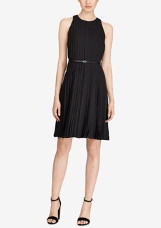 Ralph Lauren: Polo Polo Ralph Lauren Pleated Fit & Flare Dress
