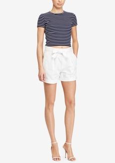 Ralph Lauren: Polo Polo Ralph Lauren Pleated High-Rise Shorts