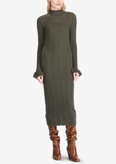 Ralph Lauren: Polo Polo Ralph Lauren Pointelle Wool Sweater Dress