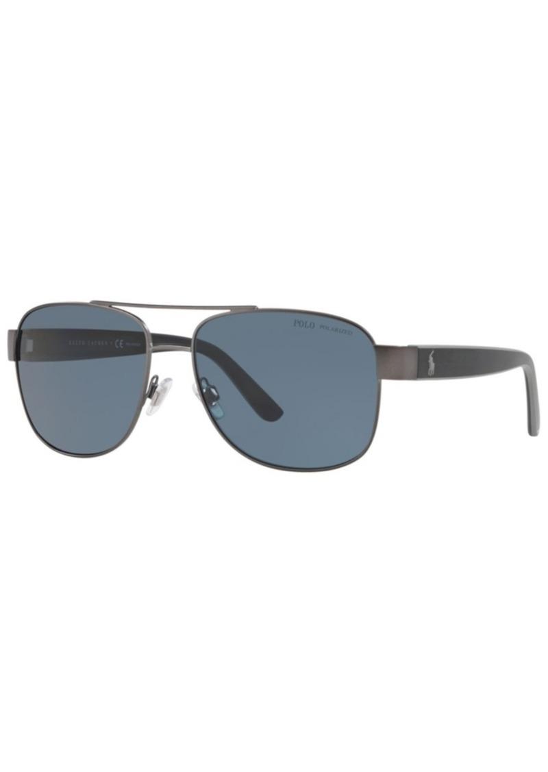 Ralph Lauren Polo Polo Ralph Lauren Polarized Sunglasses, PH3122 59