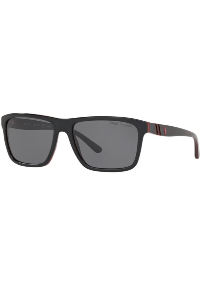 Ralph Lauren Polo Polo Ralph Lauren Polarized Sunglasses, PH4153 58