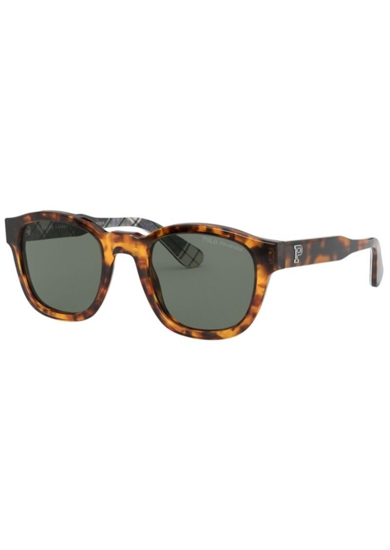 Ralph Lauren Polo Polo Ralph Lauren Polarized Sunglasses, PH4159 49