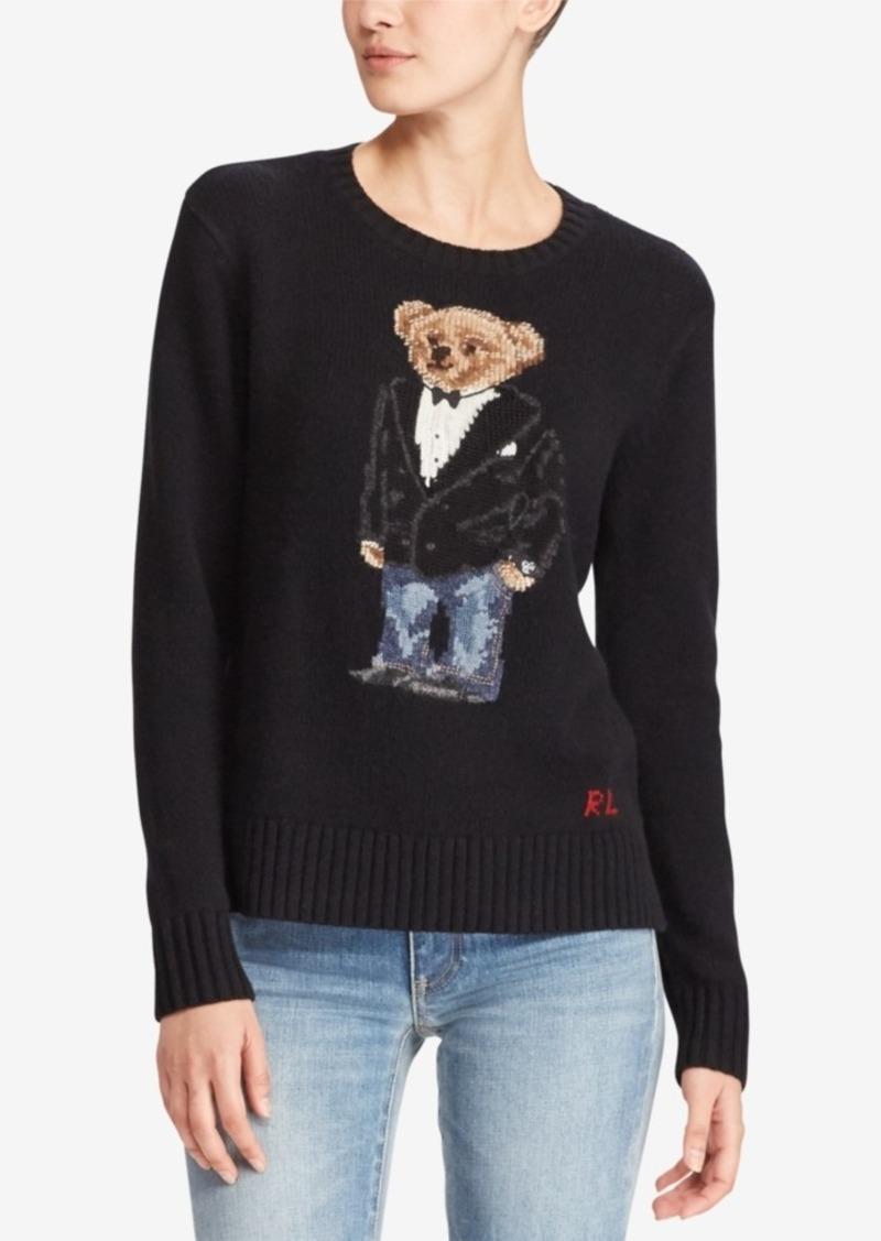 0377462e46695 Ralph Lauren  Polo Polo Ralph Lauren Polo Bear Crew-Neck Sweater ...