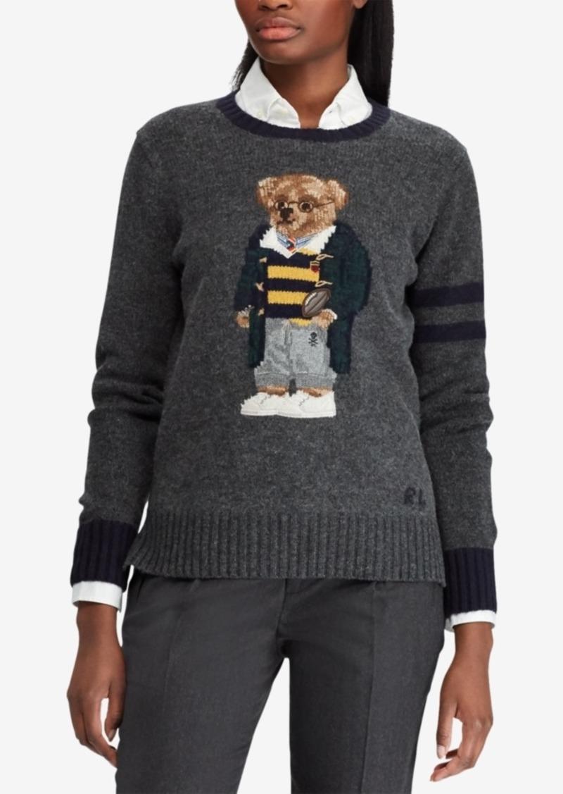3c7e88999 Ralph Lauren  Polo Polo Ralph Lauren Polo Bear Wool Sweater