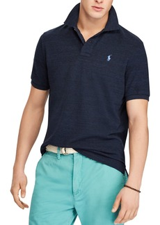 Polo Ralph Lauren Polo Custom Slim Fit Mesh Polo Shirt