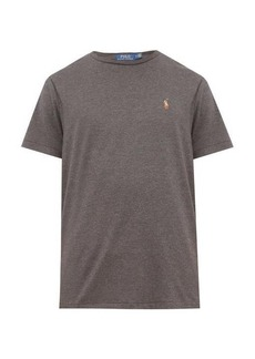 Polo Ralph Lauren Polo-embroidered cotton-jersey T-shirt