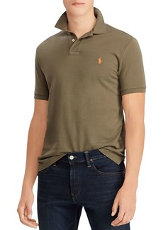 Polo Ralph Lauren Polo Mesh Custom Slim Fit Polo Shirt