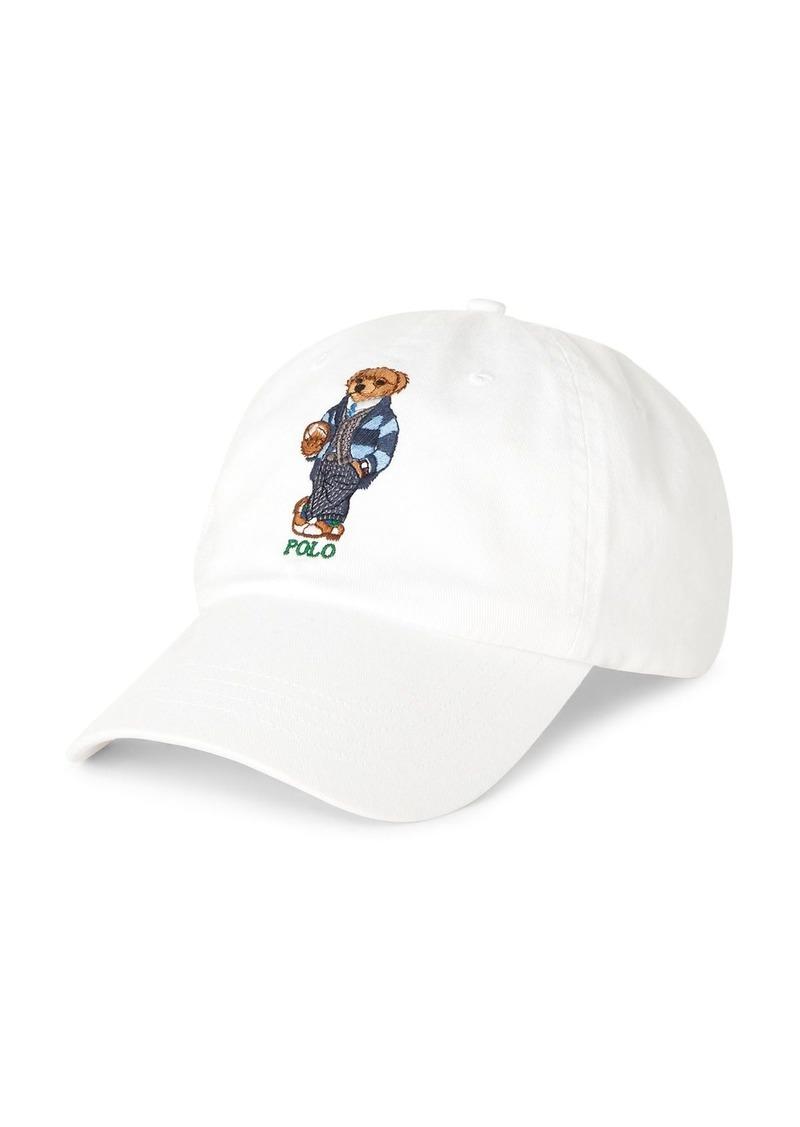 Ralph Lauren Polo Polo Ralph Lauren Preppy Bear Chino Baseball Cap
