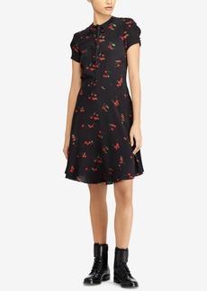Ralph Lauren: Polo Polo Ralph Lauren Printed Crepe Dress