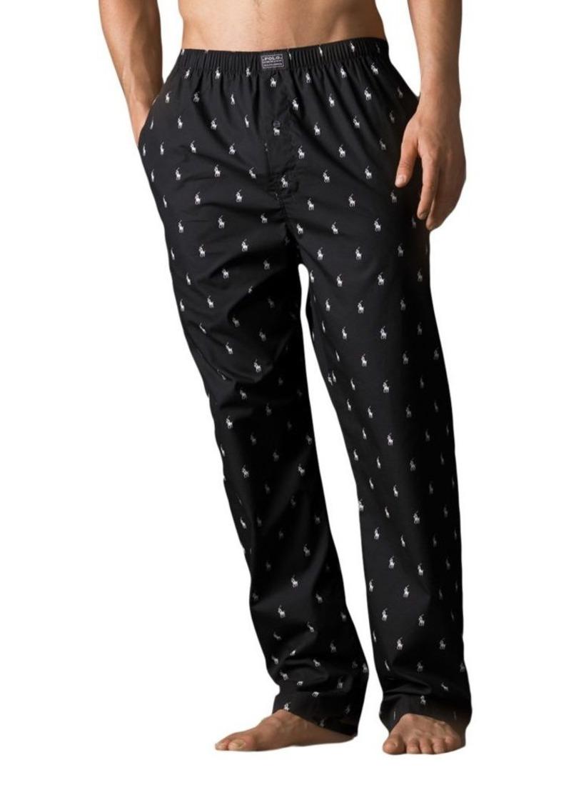 Ralph Lauren Polo Polo Ralph Lauren Printed Pony Pajama Pants