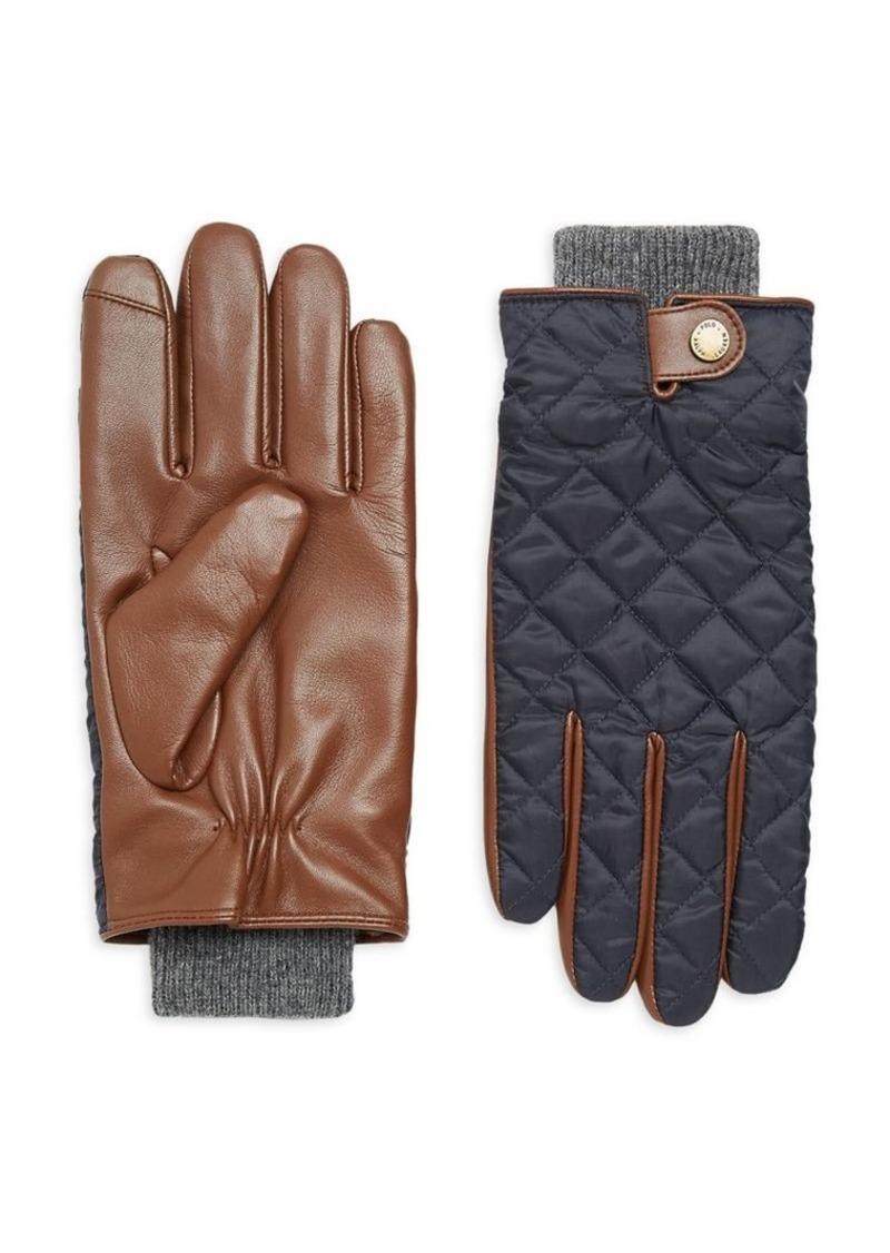 Ralph Lauren Polo Polo Ralph Lauren Men's Quilted Field Gloves