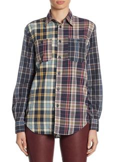 Ralph Lauren: Polo Polo Ralph Lauren Relaxed Cotton Madras Shirt