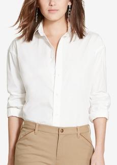 Ralph Lauren: Polo Polo Ralph Lauren Boyfriend Fit Classic Shirt