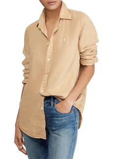 Ralph Lauren: Polo Polo Ralph Lauren Relaxed-Fit Linen Button-Down Shirt