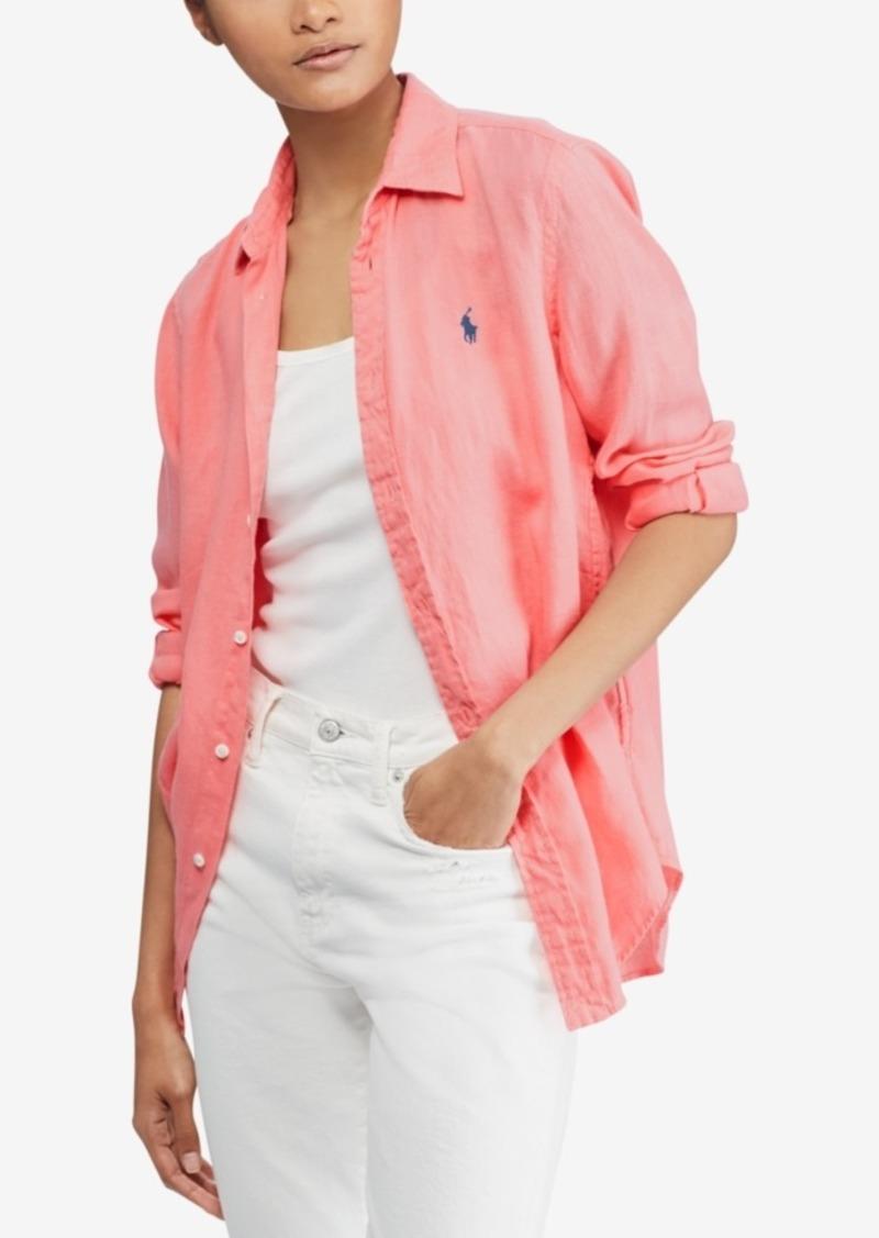 3be825baab0 Ralph Lauren  Polo Polo Ralph Lauren Relaxed-Fit Linen Shirt ...