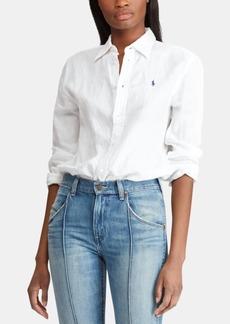 7e979b0d49 Ralph Lauren  Polo Polo Ralph Lauren Relaxed Fit Linen Shirt