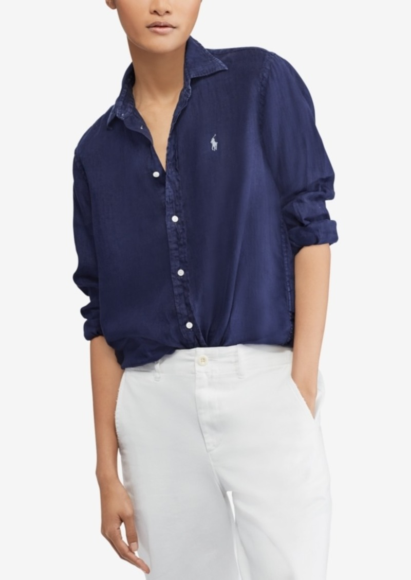 4e81fb58bdc Ralph Lauren  Polo Polo Ralph Lauren Relaxed Fit Linen Shirt ...