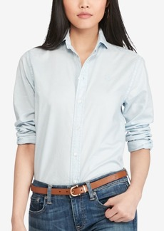 Ralph Lauren: Polo Polo Ralph Lauren Relaxed-Fit Long-Sleeve Shirt