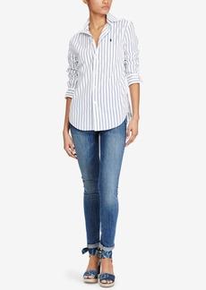 Ralph Lauren: Polo Polo Ralph Lauren Relaxed-Fit Striped Cotton Shirt