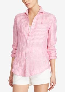 Ralph Lauren: Polo Polo Ralph Lauren Relaxed Fit Striped Linen Shirt
