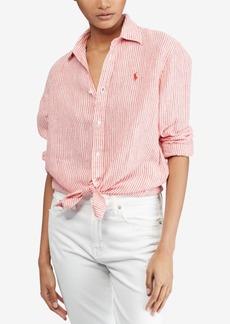 Ralph Lauren: Polo Polo Ralph Lauren Relaxed Linen Shirt