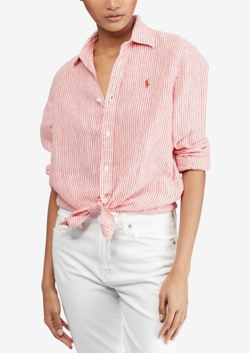 037f754b89c Ralph Lauren  Polo Polo Ralph Lauren Relaxed Linen Shirt
