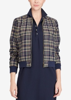 Ralph Lauren: Polo Polo Ralph Lauren Reversible Cotton Bomber Jacket