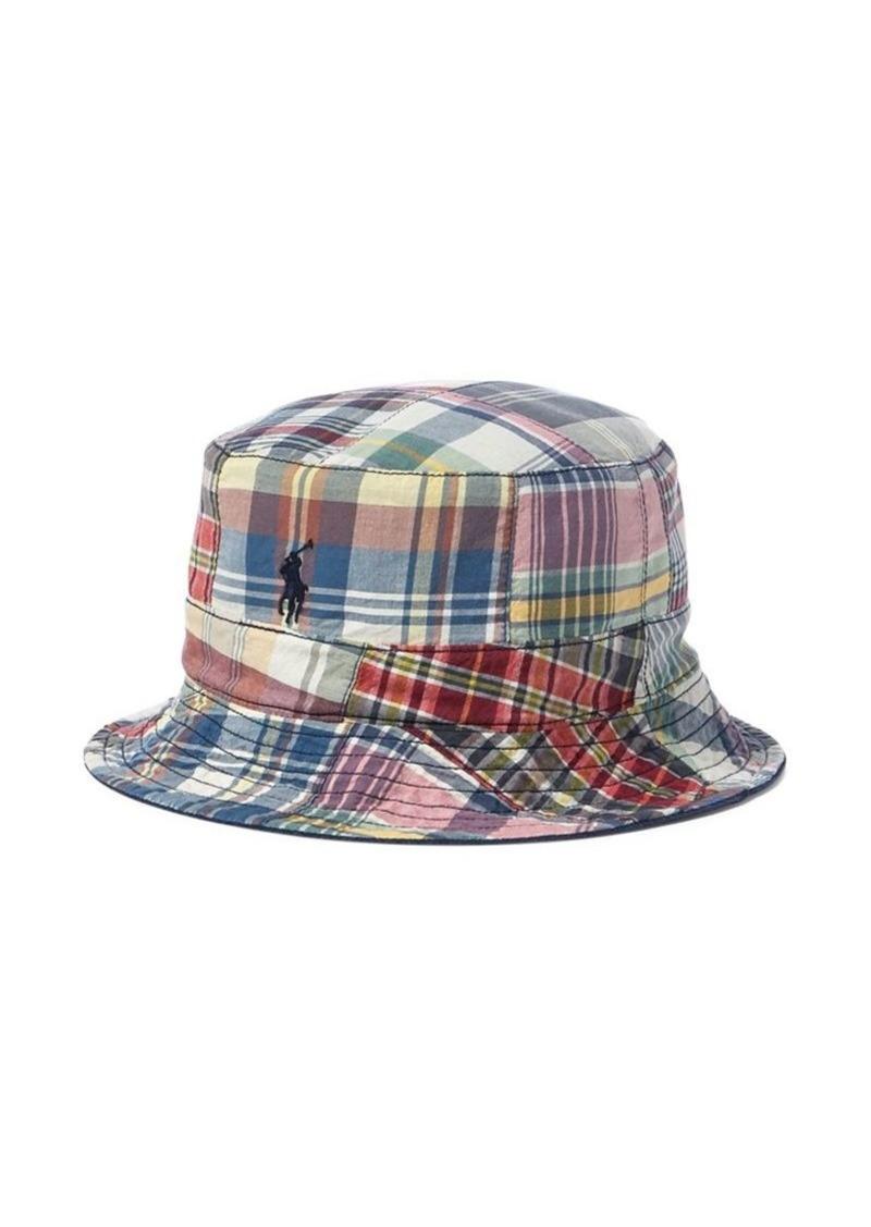 9d3a363517b Ralph Lauren Polo Polo Ralph Lauren Reversible Madras Bucket Hat ...