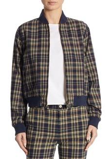 Ralph Lauren: Polo Polo Ralph Lauren Reversible Plaid Baseball Cotton Jacket