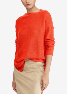 Ralph Lauren: Polo Polo Ralph Lauren Rib-Knit Linen Sweater