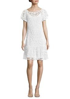 Polo Ralph Lauren Ruffled Lace Dress