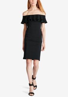 Ralph Lauren: Polo Polo Ralph Lauren Ruffled Off-The-Shoulder Dress