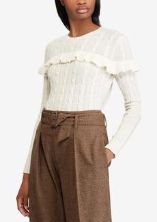 Ralph Lauren: Polo Polo Ralph Lauren Ruffled Sweater