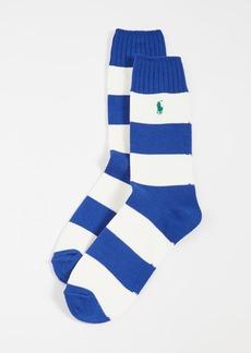 Ralph Lauren Polo Polo Ralph Lauren Rugby Crew Socks